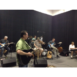 Rehearsal last night at the Sound Check in Nashville for The Music City Show