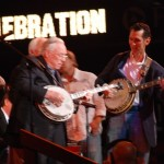 Earl Scruggs and Tim at Tim's Jam Session