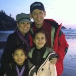 The Lovelace Family in Cannon Beach, OR