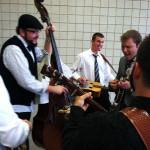 Ben Isaacs jammin' on the bass - #NQC2013