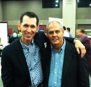 Me and my buddy Gerald Crabb - #NQC2013