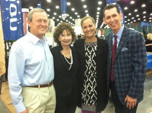Tim and Mary Alice with sweet friends, Michael and Jane Cox - #NQC2013