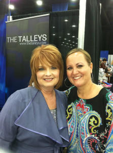 Old friends, Debra Talley and Mary Alice. #NQC2013