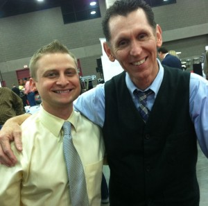 Tim and producer Scott Godsey of The Music City Show.