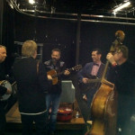 Tim with the John Jorgensen Band before the show