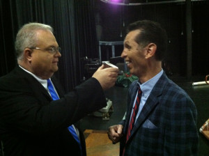 Les Butler of Solid Gospel thinks Tim needs more coffee.