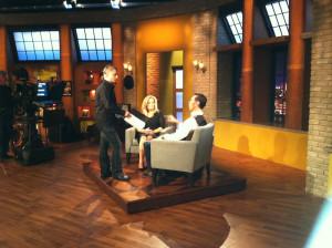 Producer Scott Godsey, Karen, and Tim